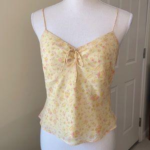 EUC Ann Taylor Silk Floral Top